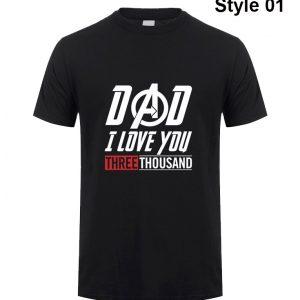 Dad I Love you 3000 Time shirt
