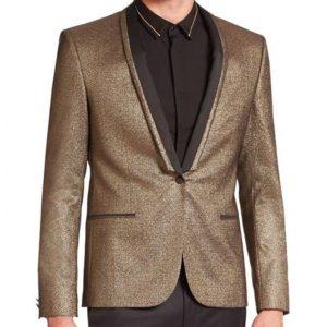Joker Golden Tuxedo Jacket