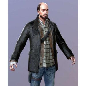 DR4 Tom Pickton Black Coat