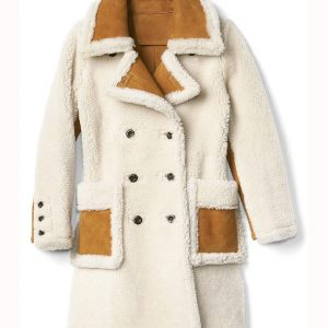 Womens Double Breasted Coat