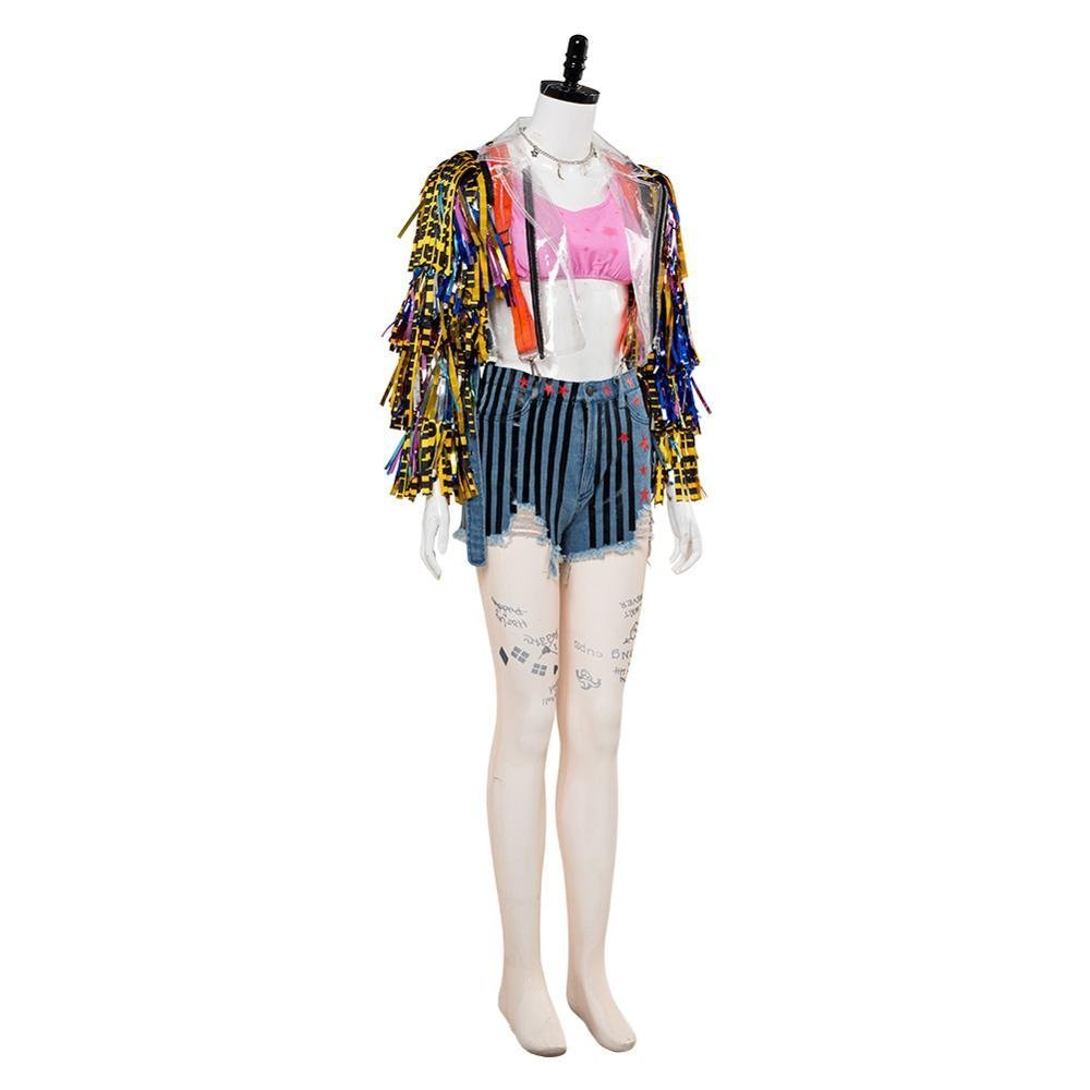 Birds Of Prey Costume Margot Robbie Cosplay Costume