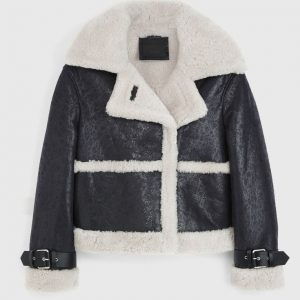 Arlo Shearling Leather Jacket