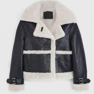 Arlo Shearling Leather Jacket