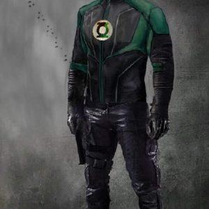 John Diggle Green Lantern Jacket