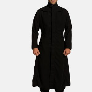 Mens Black Long Coat