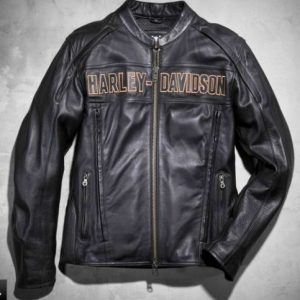 Harley Davidson Men Black Jacket