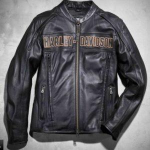Harley Davidson Men Black Jacket