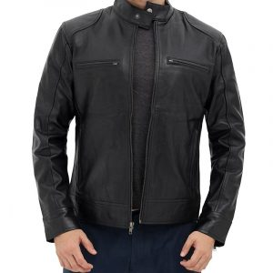 Lambskin Leather Jacket for Men