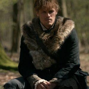 Outlander S04 Jamie Fraser Fur Coat