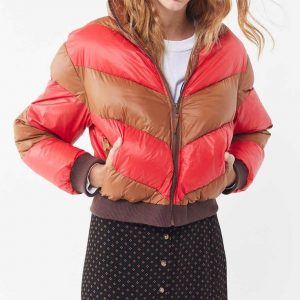 Spinning Out Puffer Jacket