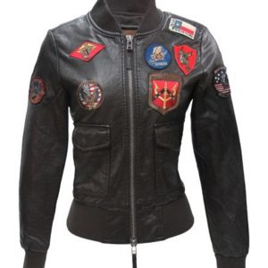 Top Gun Womens Vegan Jacket