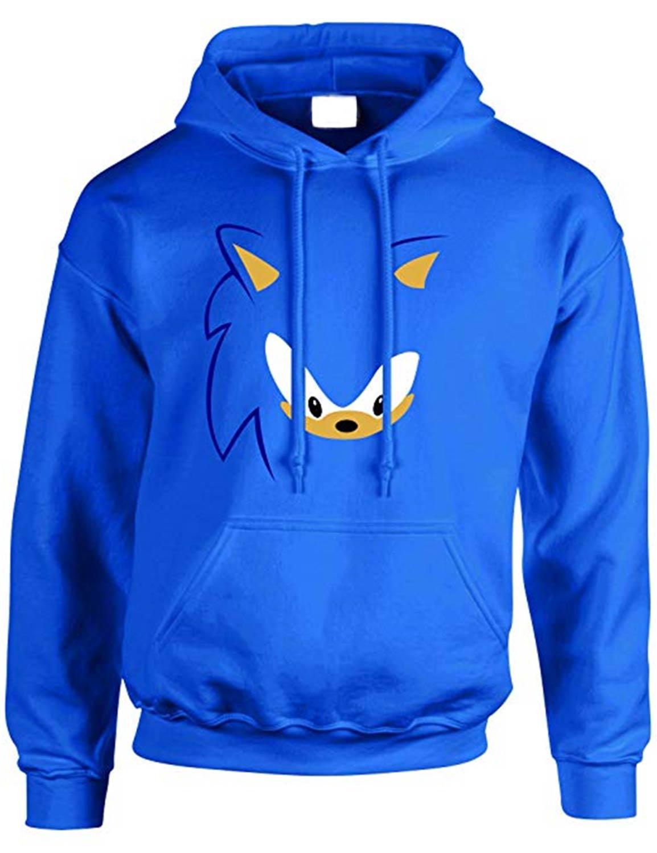 Sonic The Hedgehog Hoodie Blue Cotton Hoodie