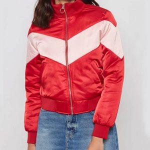 Serena Baker Bomber Jacket