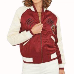 Jessica Davis Bomber Jacket
