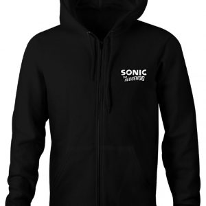 Sonic The Hedgehog Logo Hoodie