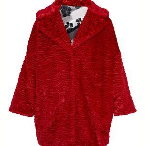 Katy Keene Red Fur Coat