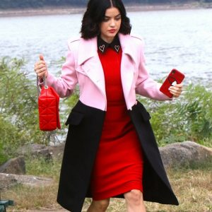 Lucy Hale Trench Coat