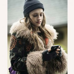 Mr Robot Darlene Fur Coat