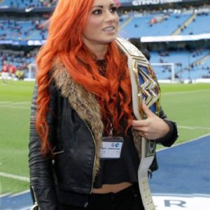 Becky Lynch Fur Jacket