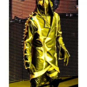WWE Wrestler Gold Dust Hoodie Coat