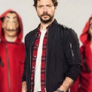 Money Heist El Profesor Bomber Jacket