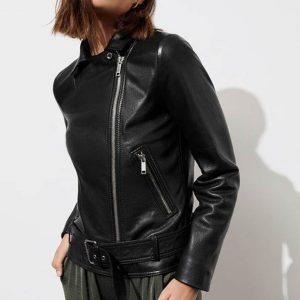 Jessica Davis Leather Jacket