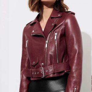 13 Reasons Why S04 Jessica Davis Moto Jacket