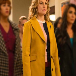 Riverdale Alice Cooper Yellow Coat