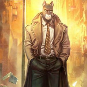 Blacksad Under the Skin John Blacksad Coat