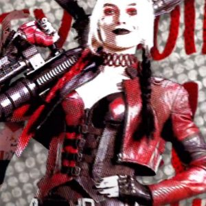 The Suicide Squad Harley Quinn Cropped Leather Margot Robbie Jacket