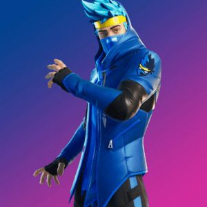 Video Game Fortnite Ninja Jacket