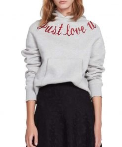 Just Love You Hoodie For Womens