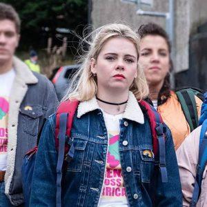 Derry Girls Erin Blue Denim Jacket