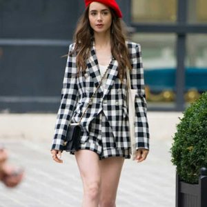 Emily Cooper Emily In Paris Lily Collins Black