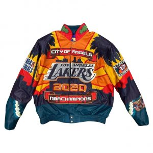 Los Angeles Lakers 2020 Championship Jacket Jeff Hamilton Nba Jacket