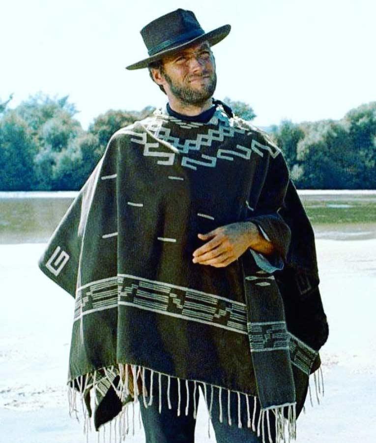 poncho-alternative man clothing-apocalyptic warrior-onesize poncho-unisex-high neck poncho-wool poncho Killing Me Softly